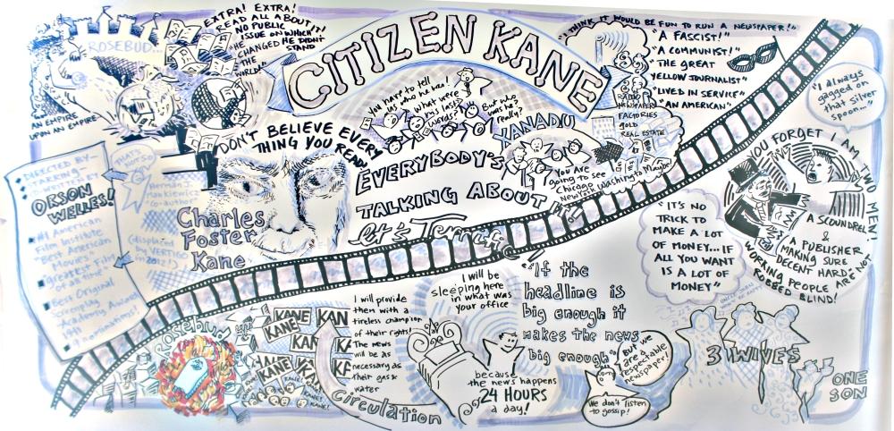 Citizen Kane #graphicfacilitation