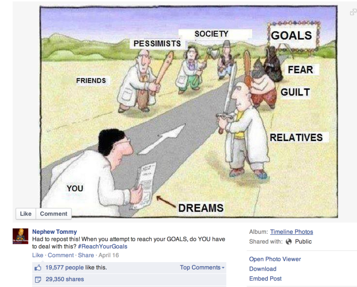 Is this how you've experienced planning and goal setting?  Yikes!