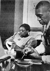 Horace Pippen and his wife Jenny