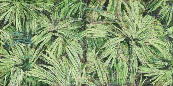 Jennifer Barlett, Grasses, 2011