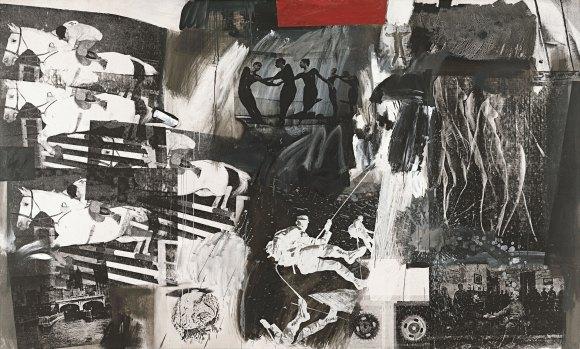 Rauschenberg, Express, 1974