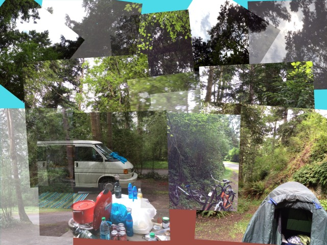 CollageCamping