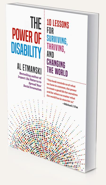 The Power of Disability, book cover, by Al Etmanski